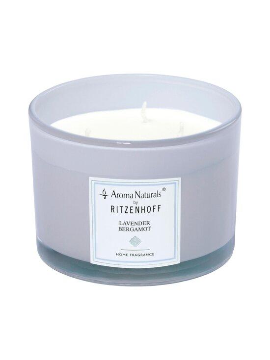 Ritzenhoff - Aroma Naturals Lavender Bergamot -tuoksukynttilä Ø 11 cm - LIILA | Stockmann - photo 1