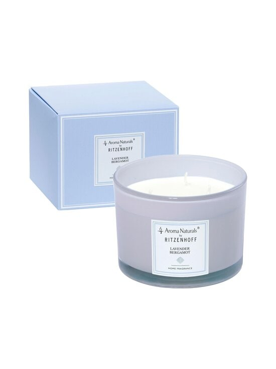 Ritzenhoff - Aroma Naturals Lavender Bergamot -tuoksukynttilä Ø 11 cm - LIILA | Stockmann - photo 2