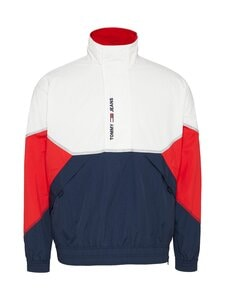 Tommy Jeans - TJM Lightweight Popover Jacket -takki - YBR WHITE / MULTI | Stockmann