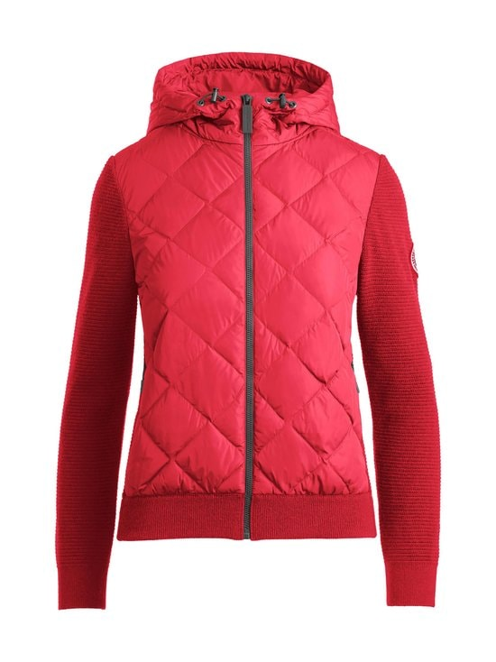 Canada Goose - HyBridge Quilted Knit Hoody -takki - 11 RED - ROUGE | Stockmann - photo 1