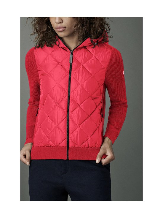 Canada Goose - HyBridge Quilted Knit Hoody -takki - 11 RED - ROUGE | Stockmann - photo 2