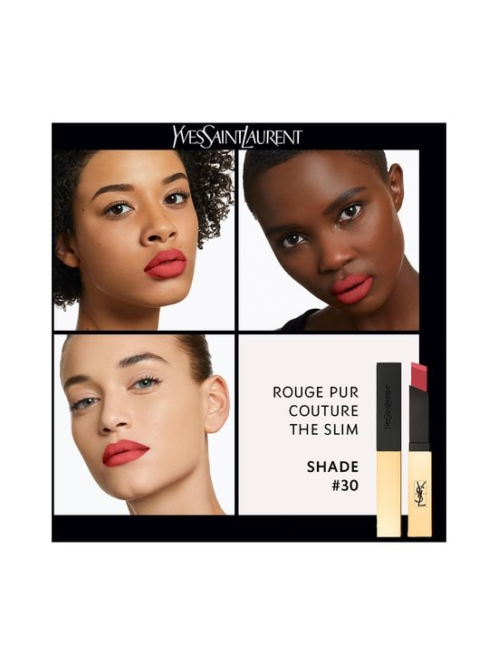 Yves Saint Laurent - Rouge Pur Couture The Slim -mattahuulipuna 2,2 g - 30 NUDE PROTEST | Stockmann - photo 6