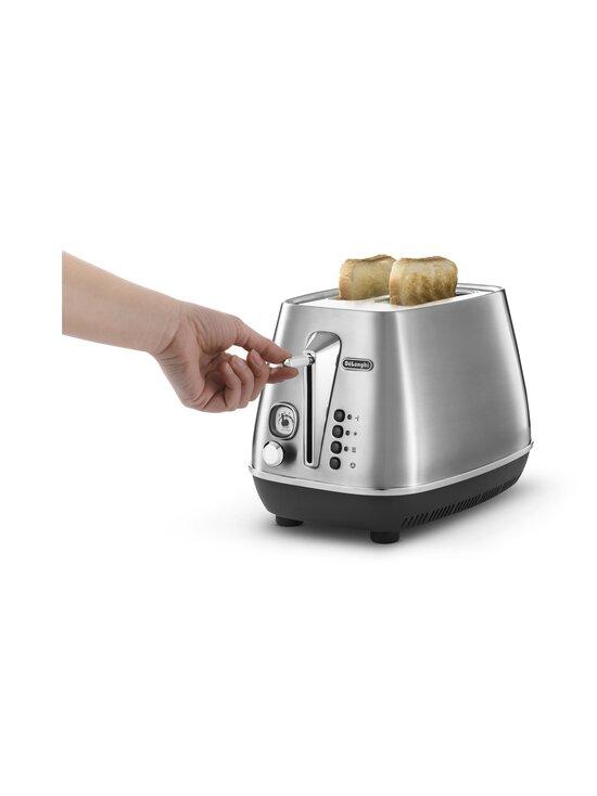 Delonghi - Distinta X Toaster -leivänpaahdin - STAINLESS STEEL | Stockmann - photo 2