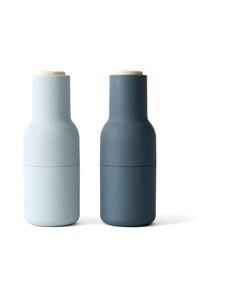 Menu - Bottle-maustemyllysetti - BLUE, BEECH | Stockmann