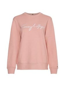 Tommy Hilfiger - Regular Graphic C-NK -collegepaita - TQS SOOTHING PINK | Stockmann