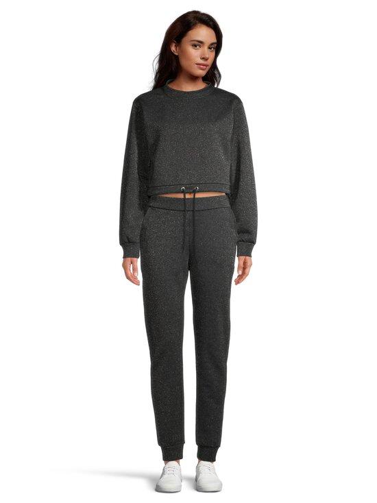 NA-KD - Glitter Sweater -paita - BLACK 0002 | Stockmann - photo 2