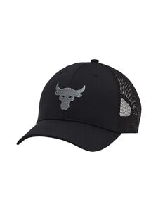 Under Armour - Project Rock Trucker -lippalakki - 001 BLACK | Stockmann