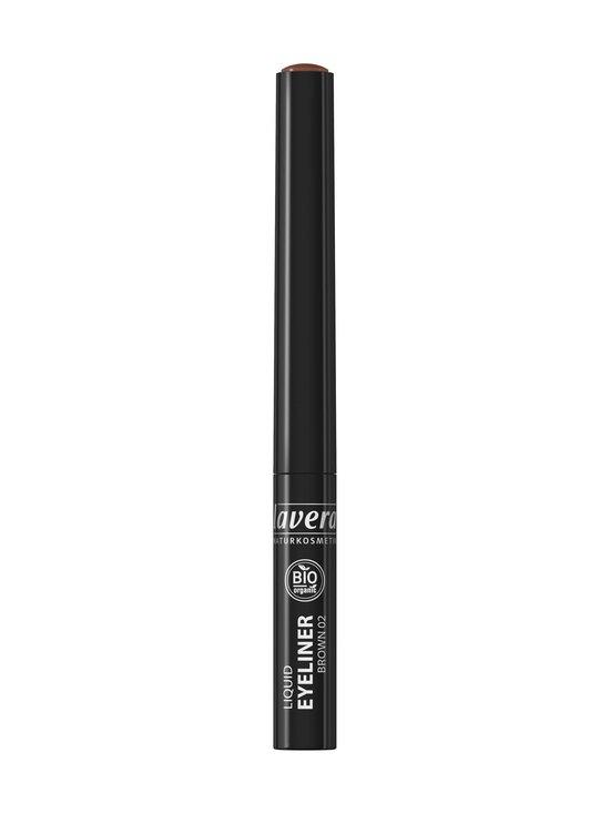 Lavera - Trend Sensitiv Liquid Eyeliner -nestemäinen silmänrajauskynä - 02 BROWN   Stockmann - photo 2