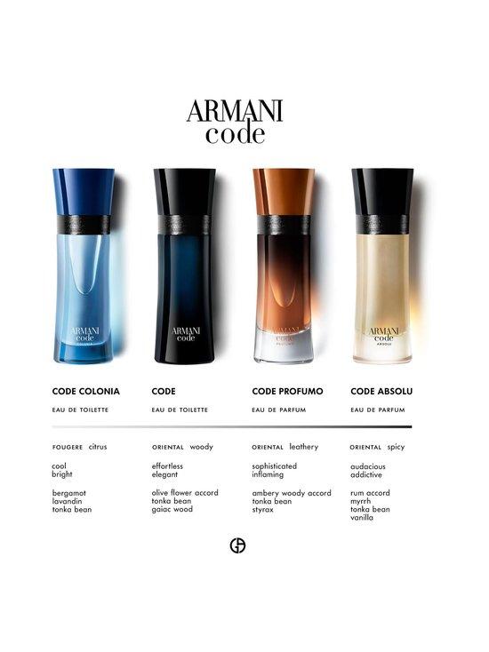 Armani - Code EdT -tuoksu 75 ml - NOCOL | Stockmann - photo 6