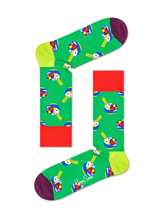 Happy Socks - Poke Bowl -sukat - 7300 GREEN | Stockmann - photo 1