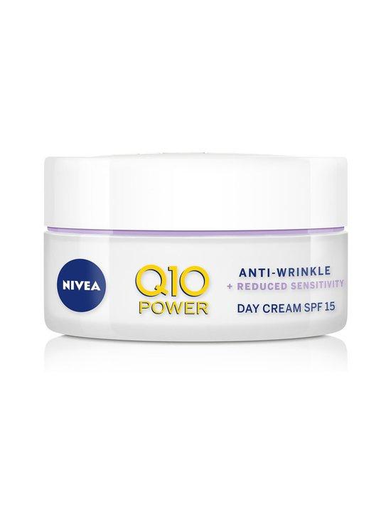NIVEA - Q10 POWER Anti-Wrinkle + Sensitive Skin Day Cream SPF 15 -päivävoide 50 ml - NO COLOR   Stockmann - photo 1