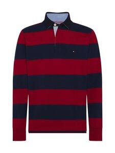 Tommy Hilfiger - Tommy Hilfiger Iconic Block Stripe Rugby -paita - 0EV ARIZONA RED / NIGHT SKY | Stockmann