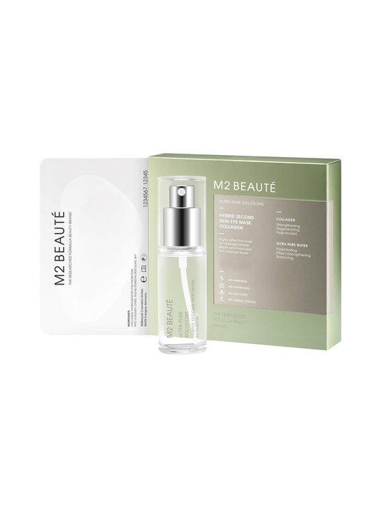 M2 Beauté - Ultra Pure Solutions Second Skin Eye Mask Collagen 30 ml - kuitunaamio 7 kpl - NOCOL   Stockmann - photo 1