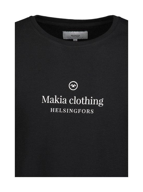 Makia - Horizon-collegepaita - 999 BLACK | Stockmann - photo 2