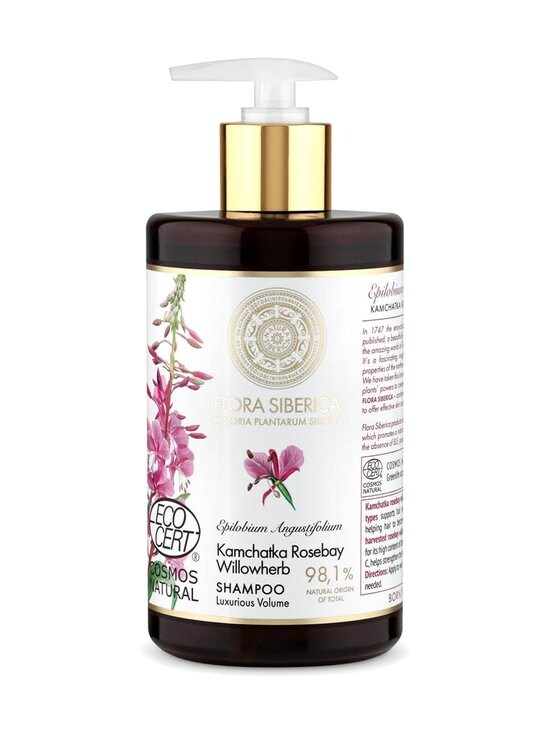 Natura Siberica - Flora Siberica Kamchatka Rosebay Willowherb Volume -shampoo 480 ml - NOCOL   Stockmann - photo 1