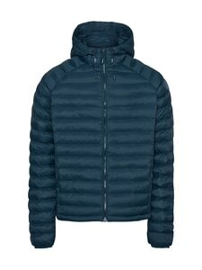 Knowledge Cotton Apparel - Eco Active Thermore Hood Jacket -toppatakki - 1307 MOONLITE OCEAN | Stockmann