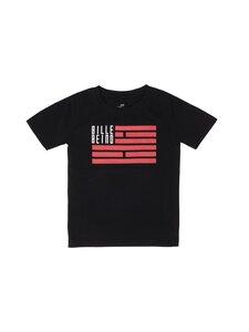 BILLEBEINO - Kids Flag T-shirt -paita - BLACK, RED / WHITE PRINT | Stockmann