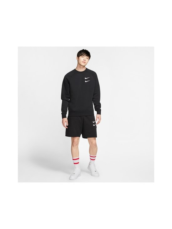 Nike - Swoosh Crew -collegepaita - 010 BLACK/WHITE | Stockmann - photo 8