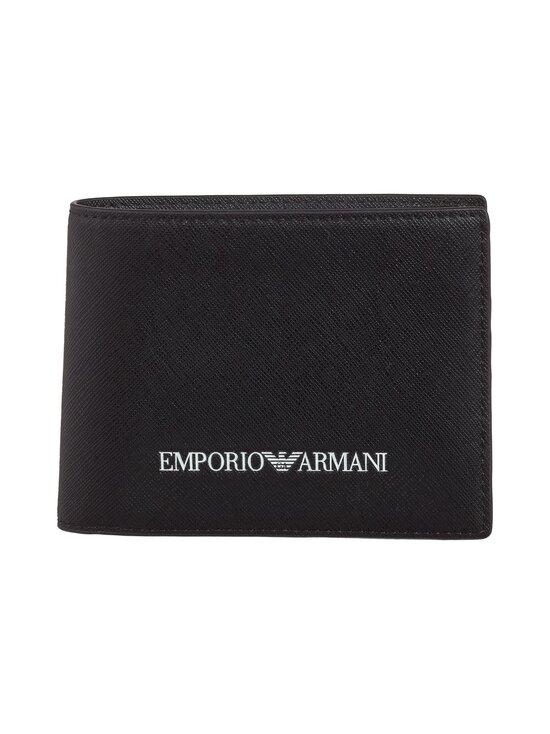 Emporio Armani - Bi-Fold Wallet -lompakko - 81072 BLACK | Stockmann - photo 1