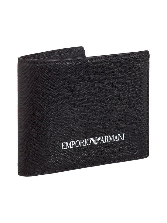 Emporio Armani - Bi-Fold Wallet -lompakko - 81072 BLACK | Stockmann - photo 2
