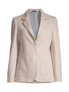 GANT - Melange Jersey Regular Blazer -bleiseri - 291 MANILA MELANGE | Stockmann