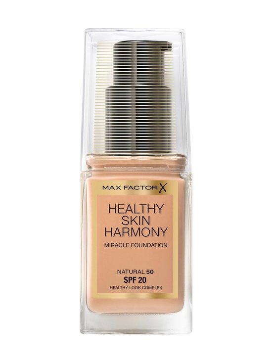 Max Factor - Healthy Skin Harmony Miracle Foundation -meikkivoide 30 ml - 50 NATURAL | Stockmann - photo 1