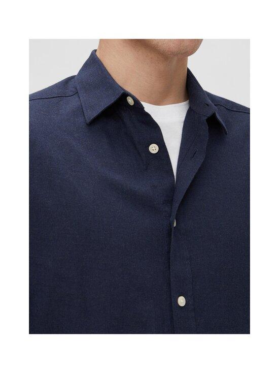 J.Lindeberg - Light Flannel Slim Shirt -flanellipaita - 6855 JL NAVY | Stockmann - photo 5