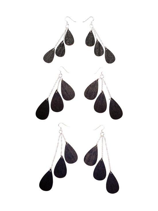 Uhana - Drops Classics -korvakorut - BLACK   Stockmann - photo 1