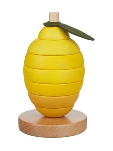 Konges Sløjd - Stacking Fruits Lemon -puulelu - null | Stockmann