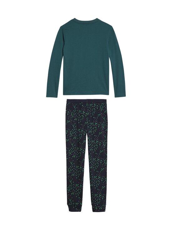 Tommy Hilfiger - Pyjama - 0T7 CYPRESS GREEN/DESERT SKY | Stockmann - photo 2