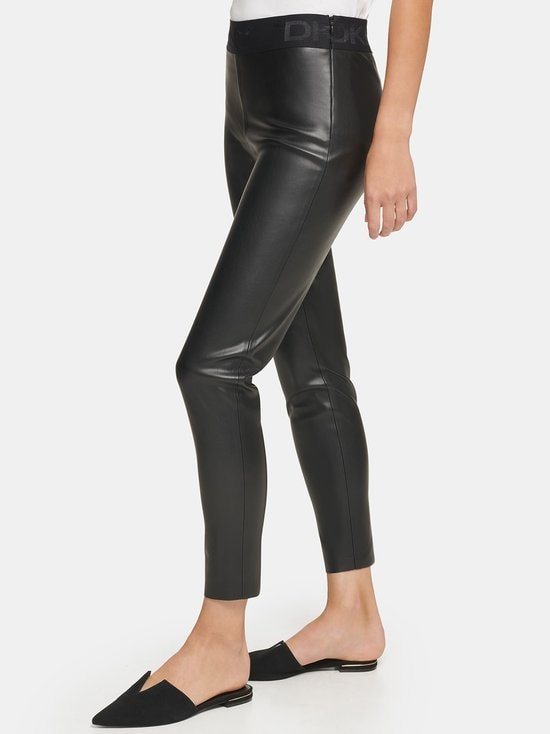 Dkny - Pull On -leggingsit - BLACK   Stockmann - photo 4