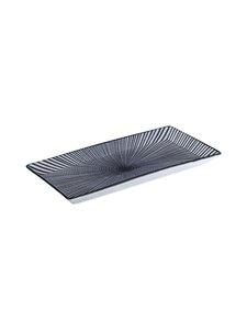 Tokyo Design Studio - Sendan-lautanen 23 x 11,5 cm - MUSTA/VALKOINEN   Stockmann
