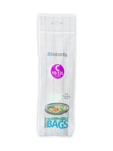 Brabantia - PerfectFit C -biohajoavat roskapussit 10-20 l, 10 kpl - GREEN | Stockmann