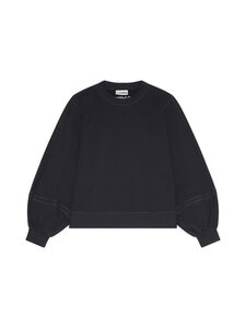 Ganni - Software Isoli Sweatshirt -collegepaita - BLACK 099   Stockmann