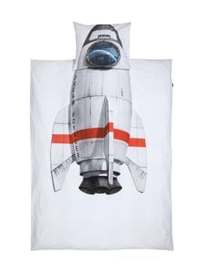 Snurk - Rocket-pussilakanasetti 150 x 210 + 50 x 60 cm - WHITE | Stockmann