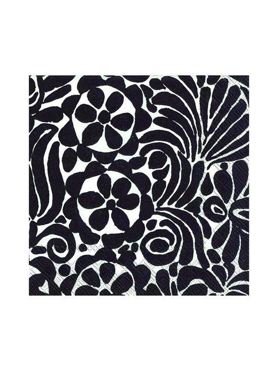 Marimekko - Tamara-servetti 33 x 33 cm - MUSTAVALKOINEN | Stockmann - photo 1