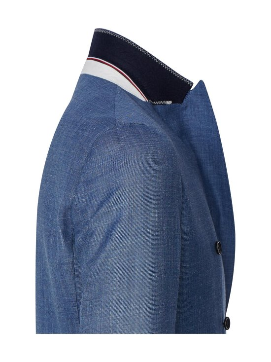 Tommy Hilfiger Tailored - Double Breasted Slim Fit Virgin Wool Suit -puku - DU9 BLUE HEATHER 05   Stockmann - photo 3