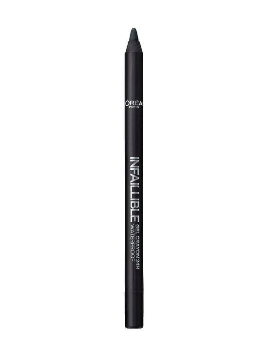 L'Oréal Paris - Infallible Gel Crayon -silmänrajauskynä - 01 BACK TO BLACK | Stockmann - photo 2