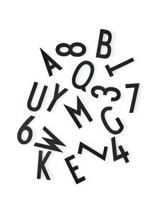 Design Letters - Kirjaimet muistitauluun - MUSTA | Stockmann