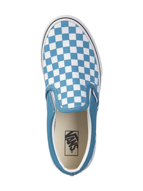 Vans - Classic Slip-On -kengät - (CHECKERBOARD) CARIBBEAN SEA/TRUE WHITE | Stockmann - photo 2