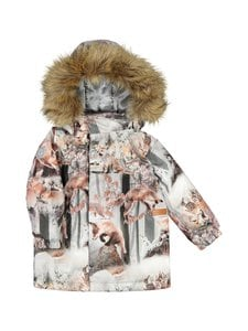 Gugguu - Print Winter Jacket -takki - DANCING FOXES | Stockmann
