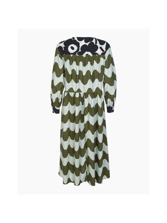 Marimekko - CO-CREATED Hohtosini dress -mekko - 116 DARK GREEN, OFF-WHITE, BLACK   Stockmann - photo 2