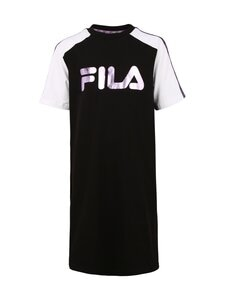 Fila - LEAH Taped Tee Dress -paitamekko - E09 BLACK-BRIGHT WHITE   Stockmann