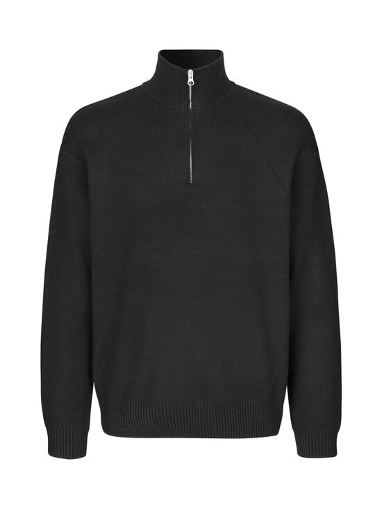 Samsoe & Samsoe - Guna Turtle Neck Zip -neule - 00001 BLACK | Stockmann - photo 1