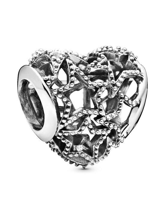 Pandora - Openwork Heart & Beaded Stars -hela - SILVER   Stockmann - photo 1