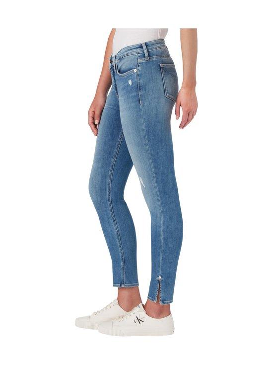 Calvin Klein Jeans - Super Skinny Ankle -farkut - 1AA AB039 LIGHT BLUE DSTR RIVET | Stockmann - photo 4