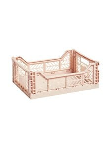 HAY - Colour Crate M -laatikko 40 x 30 x 14,5 cm - SOFT PINK | Stockmann