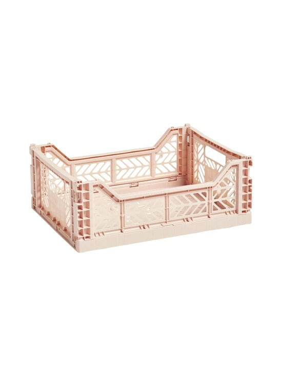 HAY - Colour Crate M -laatikko 40 x 30 x 14,5 cm - SOFT PINK   Stockmann - photo 1