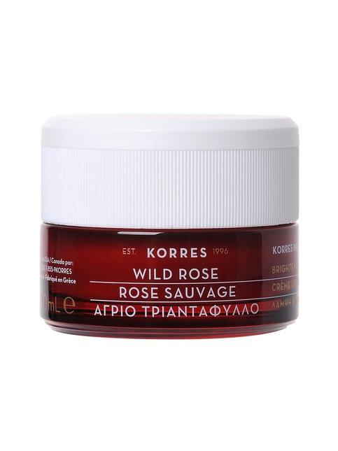 Korres – Wild Rose -kasvovoide kuivalle iholle 40 ml