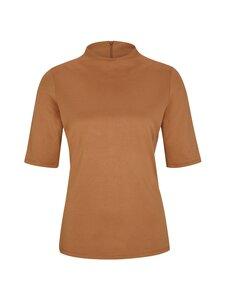 Comma - T-shirt polo neck -paita - 8748 TOBACCO | Stockmann